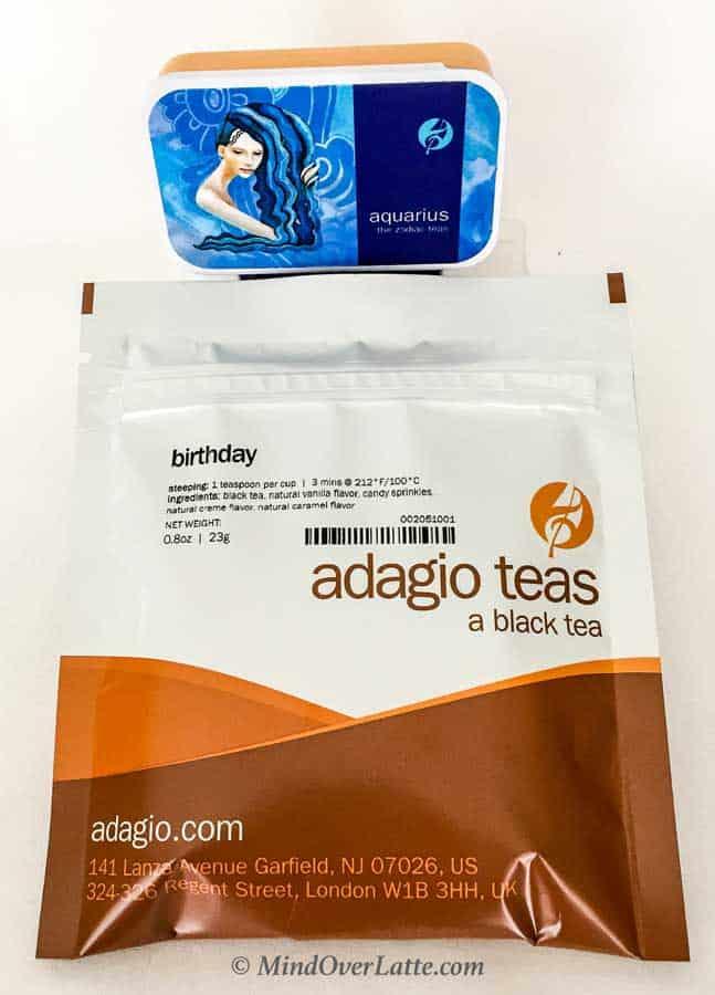 Adagio Teas - A Gourmet Tea Party for the Whole Family MindOverLatte.com
