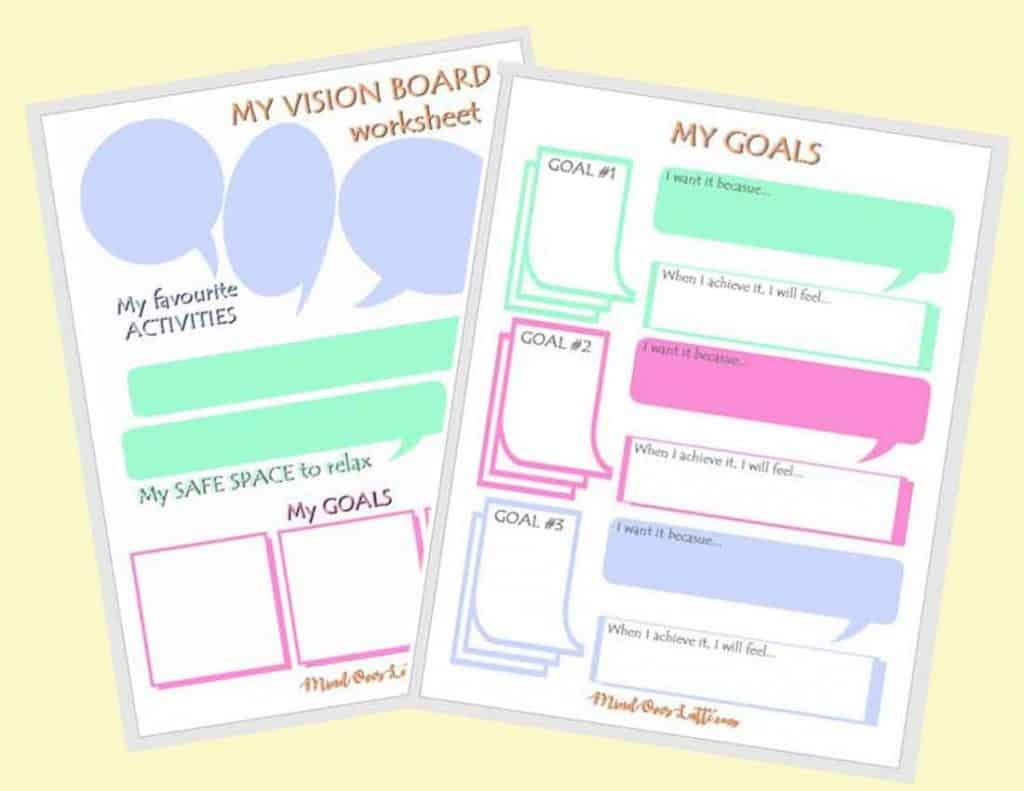 Goal Setting Worksheet for Kids