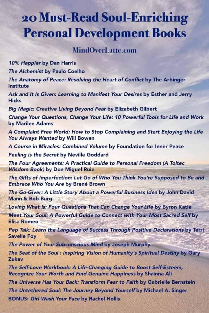 Top 20 Must-Read Soul-Enriching Personal Development Books 9