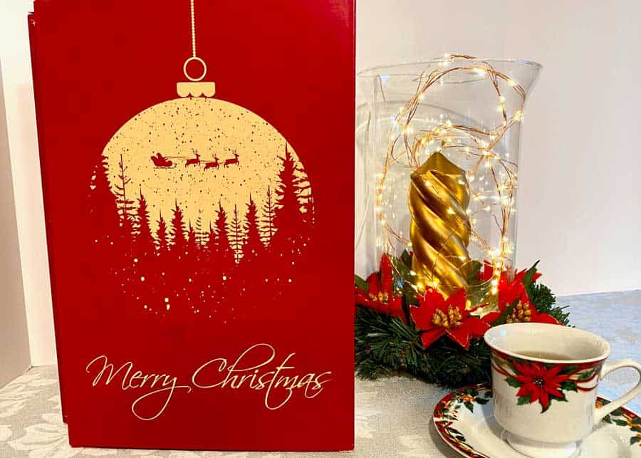 Counting down to Christmas with Adagio Teas Advent Calendar and '12 Days of Christmas' Tea Set 2