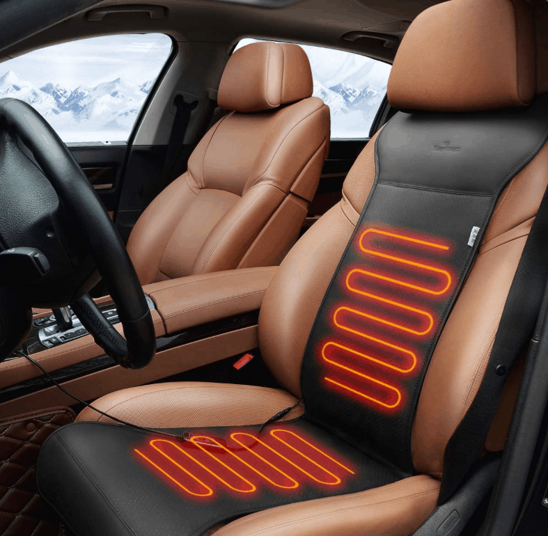 heated car seat mat. 25 winter self-care products to stay warm and healthy this inter #mindoverlatte #self-care #winter #winterselfcare