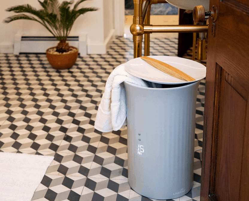 winter self-care; towel heater