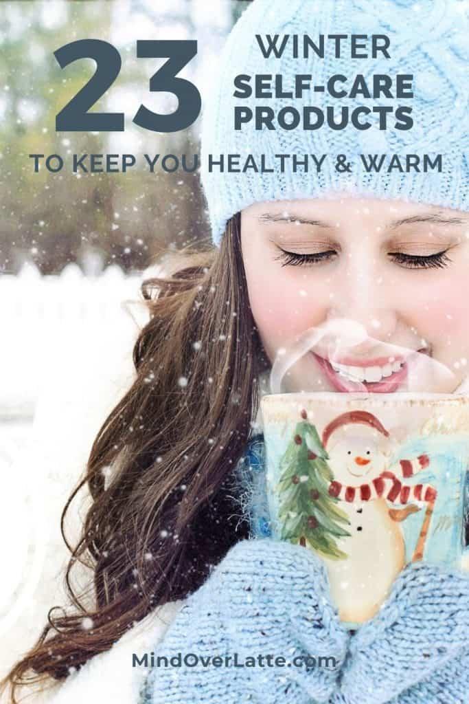 winter self-care products - MindOverLatte.com - #selfcare #winter #winterselfcare